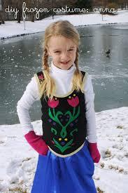 Anna Costume Diy Anna Costume From Frozen Homemade Frozen Costume