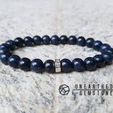 sterling silver bracelet with sapphire images Sapphire bracelets beadage jpg