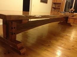 Building A Wooden Desk by Building A Farm Table Youtube