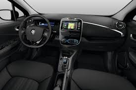 renault zoe interior renault zoe on its way behind the wheel