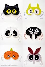 felt animal mask printable templates crafts animals