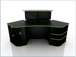 Corner Gaming Desk Corner Gaming Desk Home Desks Ideas Hash Throughout Remodel 19