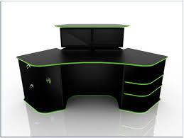 Gaming Desk Ideas Corner Gaming Desk Home Desks Ideas Hash Throughout Remodel 19