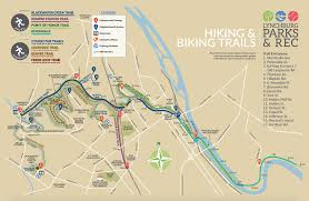 Riverwalk Map New Lynchburg Parks And Rec Trail Map