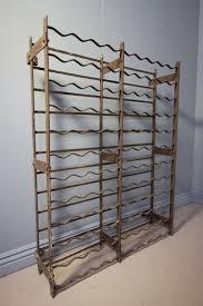 victorian antique wrought iron wine rack 91630 sellingantiques