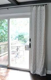Curtains For Big Sliding Doors Sliding Glass Door Coverings U2013 Massagroup Co