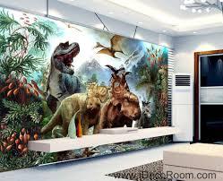3d Wallpaper Home Decor by 3d Dinosaurs Jurassic World Mountain Wallpaper Wall Art Print