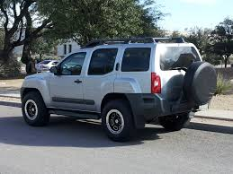 nissan xterra lifted off road tires rubbing on the wheel well archive nissan xterra forum
