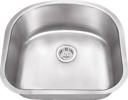 18 10 stainless steel kitchen sinks 39 d shaped sinks bathroom windsor single bowl attractive 18 gauge