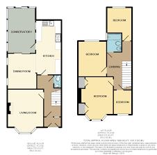 Semi Detached Floor Plans by 4 Bedroom Semi Detached House For Sale In Jaycroft Road Burnham