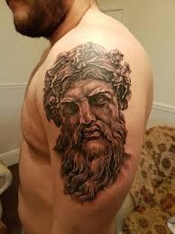 mer enn 25 bra ideer om greek god tattoo på pinterest greske