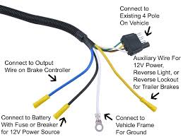 4 pin trailer connector wiring diagram wiring diagram and