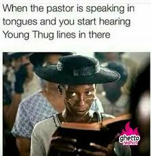 Meme Young - young thug lines ghetto red hot
