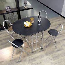 Folding Dining Table And Chairs Set Folding Dining Table And Chairs Ebay