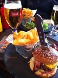 le bureau franconville assiette du burger et la bière photo de au bureau franconville
