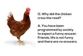 Chicken Running Meme - dopl3r com memes q why did the chicken cross the road a you