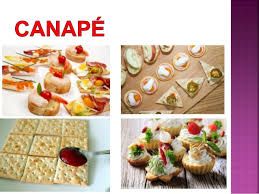 appetizer canape classification of appetizers