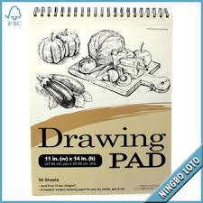 professional 50 sheets drawing sketch pad spiral paper sketch book