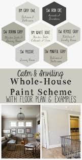 calm and inviting whole house paint scheme http home painting