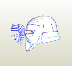 foamcraft pdo file template for star wars vii the force awakens