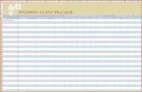 Wedding Itinerary Template For Guests 6 Wedding Guest List Printable Authorizationletters Org