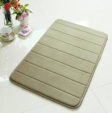 Bathroom Memory Foam Rugs New Foam Bath Shower Mat Water Absorbing Pad Non Slip Rug Bathroom