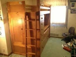 Bunk Bed With Trundle Loft Bed With Desk And Trundle Foter