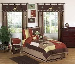 Dinosaur Comforter Full Brown Dinosaur Bedding For Boys Twin Full Queen Comforter Set