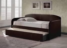 bedroom design comfortable upholstered trundle daybed for nice