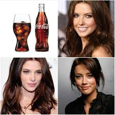 stylenoted inspiration from americana coca cola inspired hair color