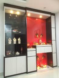 modern praying cabinet altar simple woodwork melamine guanyin