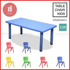 childrens plastic table and chairs children s metal chairs and tables ebay