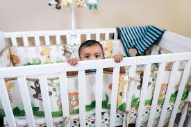 crib rail covers beautiful bumperless crib bedding