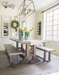 Pottery Barn Dining Room Table Best 25 Barn Table Ideas On Pinterest Diy House Projects Kreg