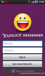 yahoo messenger app for android yahoo messenger free android app android freeware