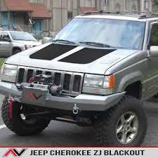 jeep grand cherokee 2017 blacked out jeep cherokee zj 93 98 blackout alphavinyl