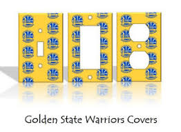 Home Decor Outlet Golden State Warriors Light Switch Covers Basketball Nba Home