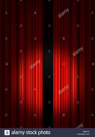 spotlight on red theatre stage curtains stock photo royalty free