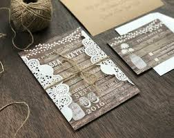 rustic wedding invitations cheap rustic wedding invitation etsy