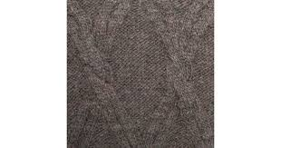 Cable Knit Rug Paul Smith Men U0027s Grey Cable Knit Wool Alpaca Sweater In Gray For