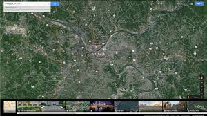Pittsburgh Pennsylvania Map by Pittsburgh Pennsylvania Map
