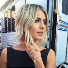 18 easy short hairstyles with bangs blonde lob blondes and weddings