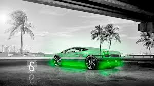 Lamborghini Gallardo Green - lamborghini gallardo crystal city car 2013 el tony