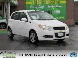 pre owned 2009 chevrolet aveo base hatchback in sandy s2568b