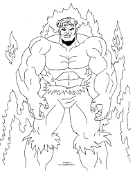 coloring pages girls incredible hulk free coloring pages
