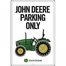 case ih home decor john deere parking only metal sign rungreen com john deere
