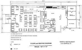 Sample Floor Plan Of A Restaurant Posting Of Maximum Occupant Load Fairfax County Virginia
