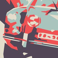 butzi porsche ferdinand butzi porsche with kak rally porsche 911 poster