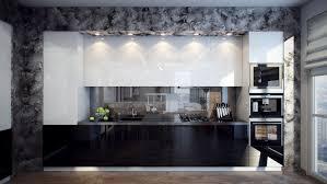 home design scenic black and white interior design kitchen black