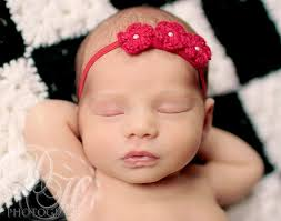 baby girl hair bands newborn headband crochet baby grace